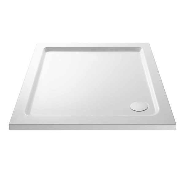 Square 40mm Shower Tray 760mm