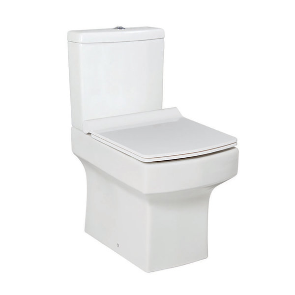 Vola Close Coupled WC Inc Soft Close Seat