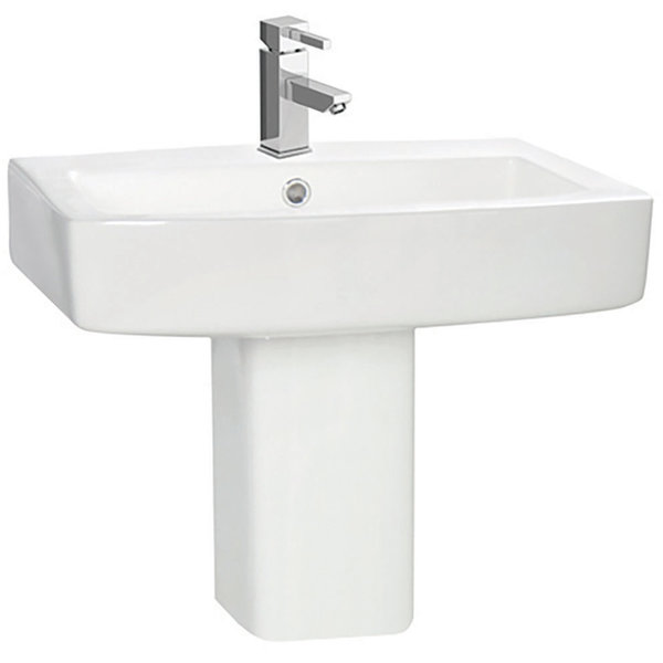 Vola 570mm Basin 1 Tap Hole
