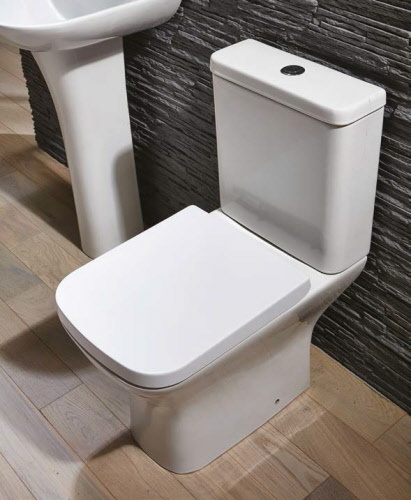 Nix Close Coupled WC Inc Soft Close Seat