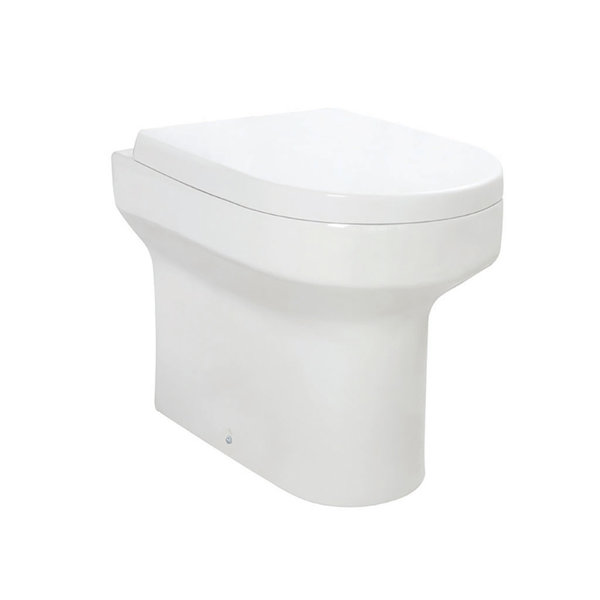 Omni Back To Wall Pan Inc Soft Close Seat