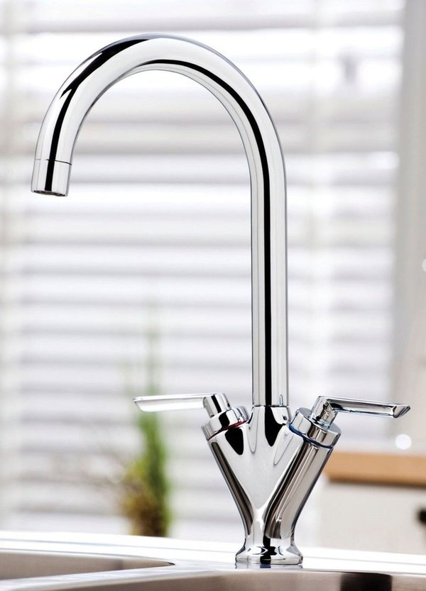 Olicana Kitchen Tap Twin Lever