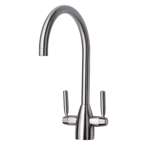 Marlo Kitchen Tap Twin Lever - Brushed
