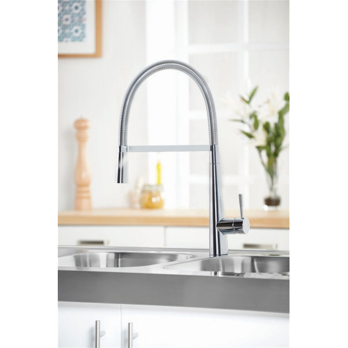 Flusso Pull Out Kitchen Tap