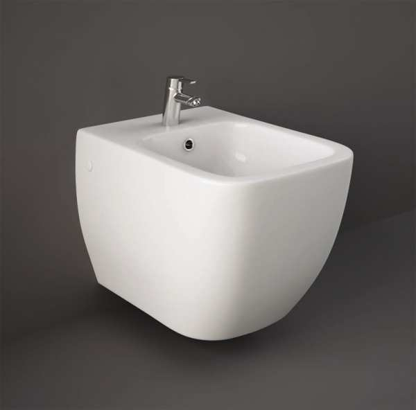 RAK Metropolitan Wall Hung Bidet - HIDDEN FIXINGS