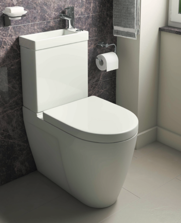 Combined 2 in 1 Toilet and Sink Inc Tap & Waste