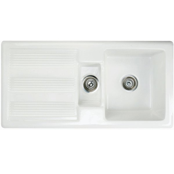 RAK Gourmet Sink 1 Reversible Kitchen Sink 1.5 Bowl