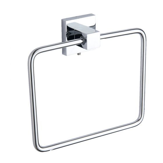 Kartell KVIT Pure Square Towel Ring